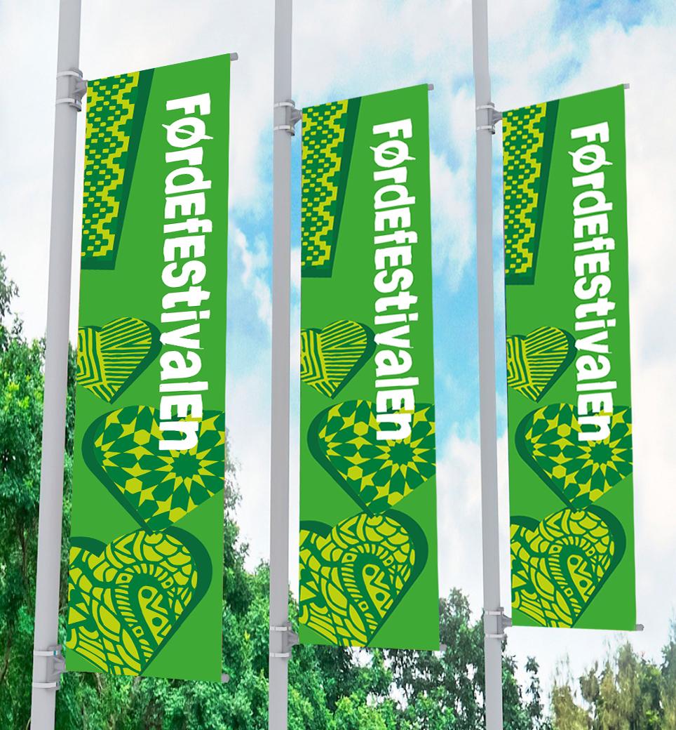 G førdefestival 2018 gateflagg